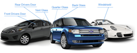 car glass guide