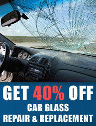 windscreen replacement and repair services promotion